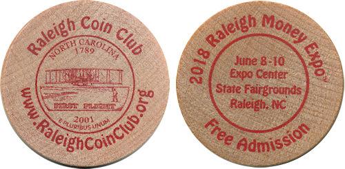 Raleigh Coin Club Collectibles